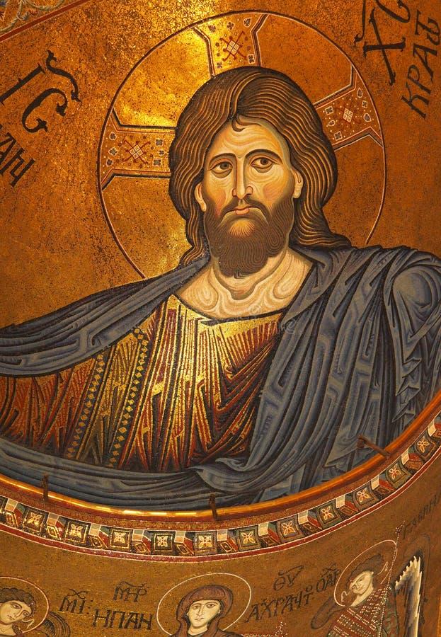 καθεδρικός ναός Ιταλία monreale Παλέρμο Σικελία στοκ φωτογραφία με δικαίωμα ελεύθερης χρήσης