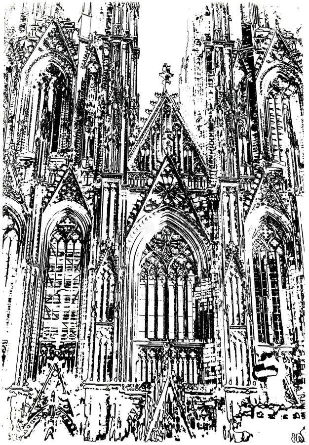 καθεδρικός ναός Κολωνία στοκ φωτογραφίες με δικαίωμα ελεύθερης χρήσης