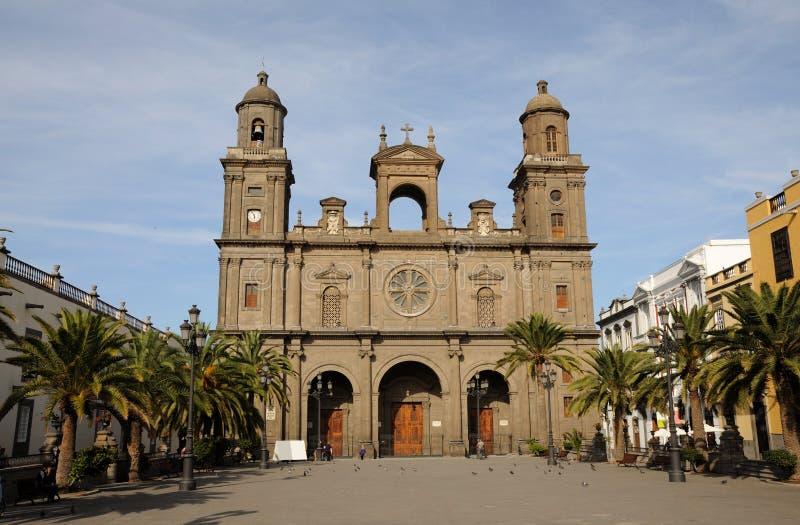 καθεδρικός ναός Λας Πάλμ&al στοκ εικόνες με δικαίωμα ελεύθερης χρήσης