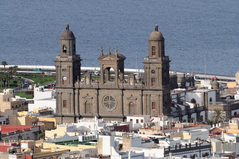 καθεδρικός ναός Λας Πάλμ&al στοκ φωτογραφία με δικαίωμα ελεύθερης χρήσης
