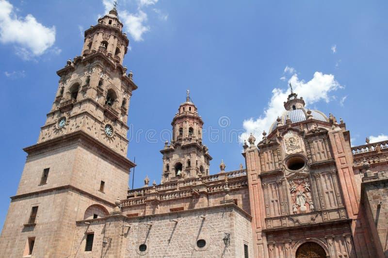 καθεδρικός ναός Μεξικό Μορέλια στοκ εικόνες με δικαίωμα ελεύθερης χρήσης
