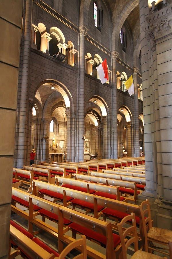 καθεδρικός ναός Μονακό Nicholas Ά& στοκ φωτογραφία με δικαίωμα ελεύθερης χρήσης