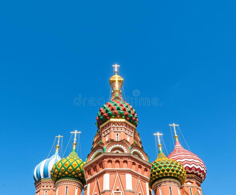 καθεδρικός ναός Μόσχα Ρωσία ST βασιλικού στοκ φωτογραφία