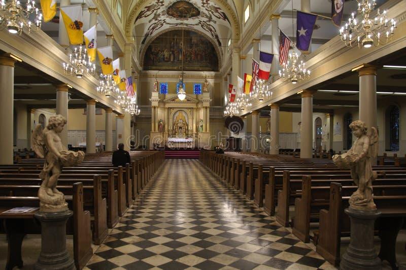 καθεδρικός ναός ο εσωτ&epsil στοκ εικόνες με δικαίωμα ελεύθερης χρήσης