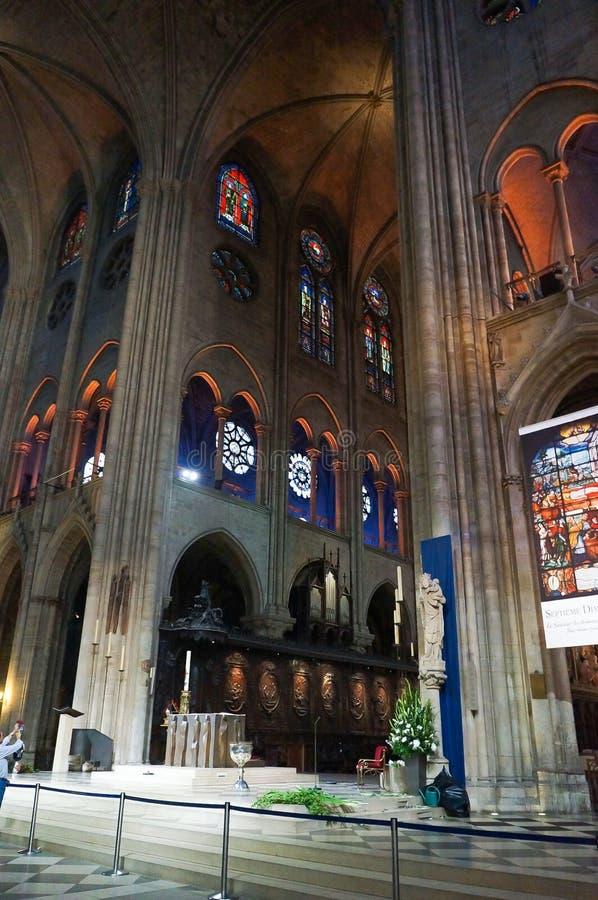Καθεδρικός ναός Παναγία των Παρισίων στοκ φωτογραφίες
