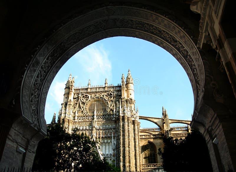 καθεδρικός ναός Σεβίλη στοκ φωτογραφία με δικαίωμα ελεύθερης χρήσης