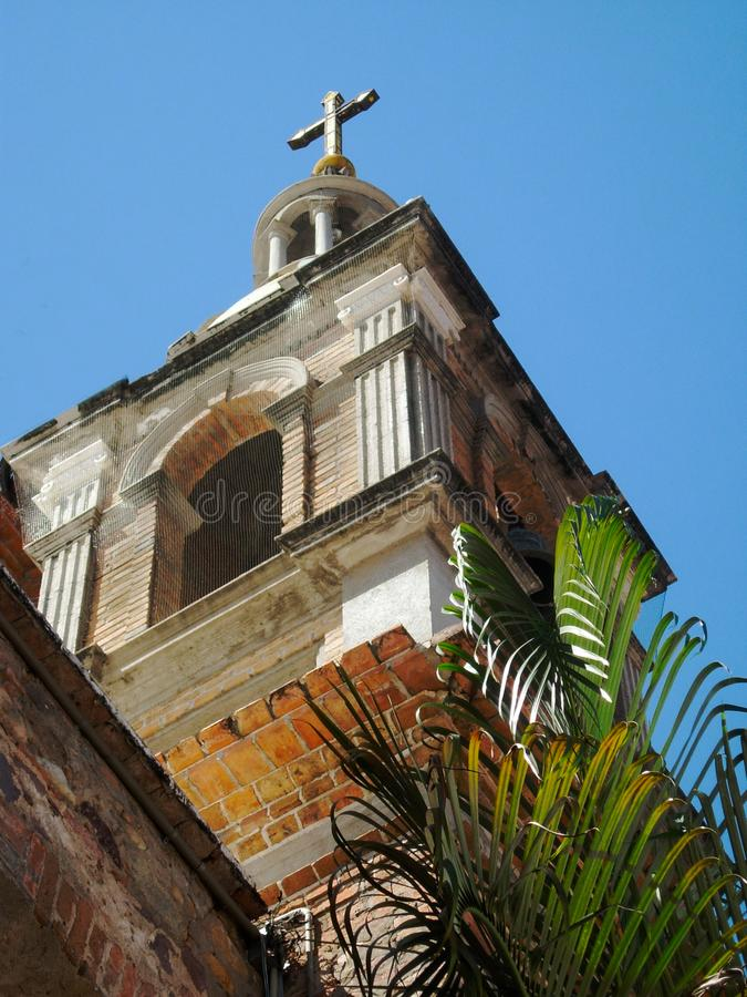 Καθεδρικός ναός σε Puerto Vallarta Μεξικό στοκ εικόνα με δικαίωμα ελεύθερης χρήσης