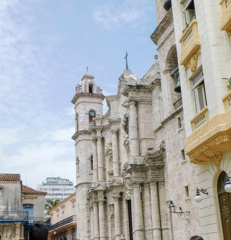 Καθεδρικός ναός της Αβάνας στοκ εικόνες