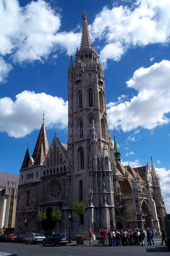 καθεδρικός ναός της Βουδαπέστης στοκ εικόνες με δικαίωμα ελεύθερης χρήσης