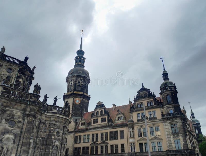 Καθεδρικός ναός της Δρέσδης ή καθεδρικός ναός της ιερής τριάδας, Γερμανία στοκ φωτογραφίες με δικαίωμα ελεύθερης χρήσης