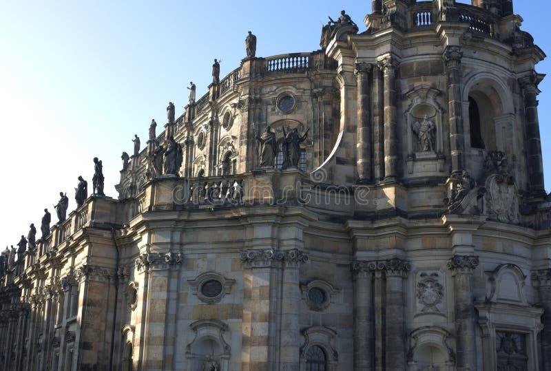 Καθεδρικός ναός της Δρέσδης - Ι - Δρέσδη - Γερμανία στοκ φωτογραφία
