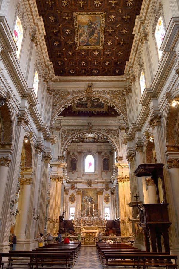 Καθεδρικός ναός της Ιταλίας - Lecce στοκ εικόνα