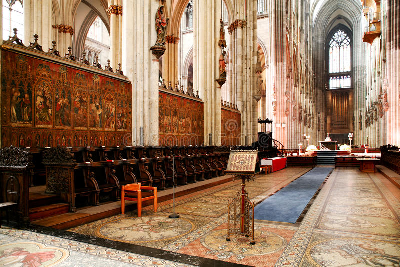 Καθεδρικός ναός της Κολωνίας στοκ φωτογραφίες με δικαίωμα ελεύθερης χρήσης