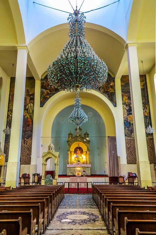 Καθεδρικός ναός 02 της Τεχεράνης Άγιος Sarkis στοκ εικόνες