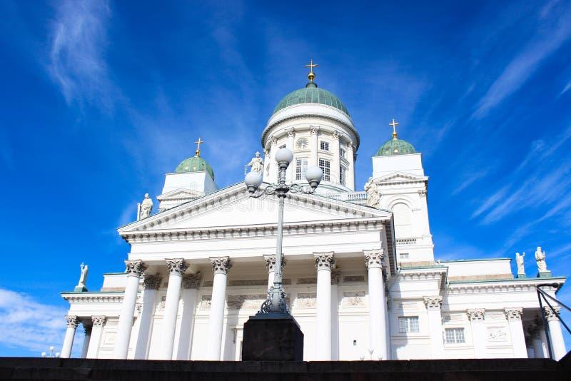 Καθεδρικός ναός του Άγιου Βασίλη του Ελσίνκι, Φινλανδία στοκ εικόνα