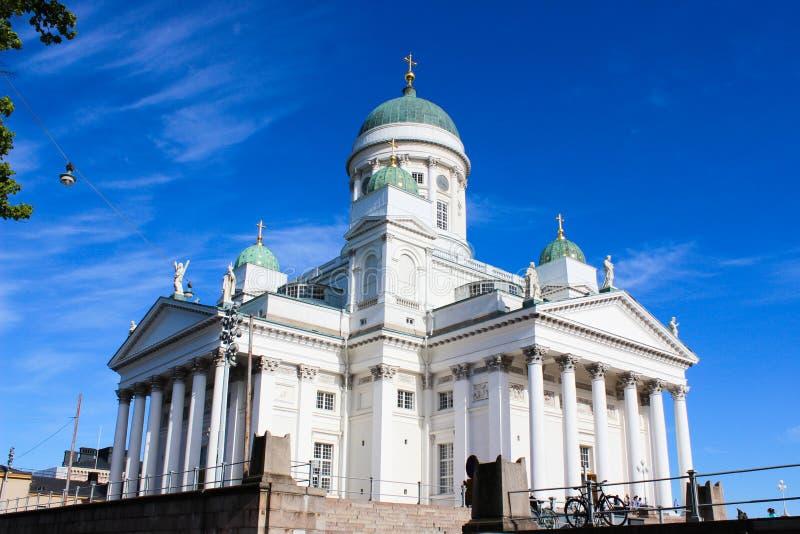 Καθεδρικός ναός του Άγιου Βασίλη του Ελσίνκι, Φινλανδία στοκ φωτογραφία