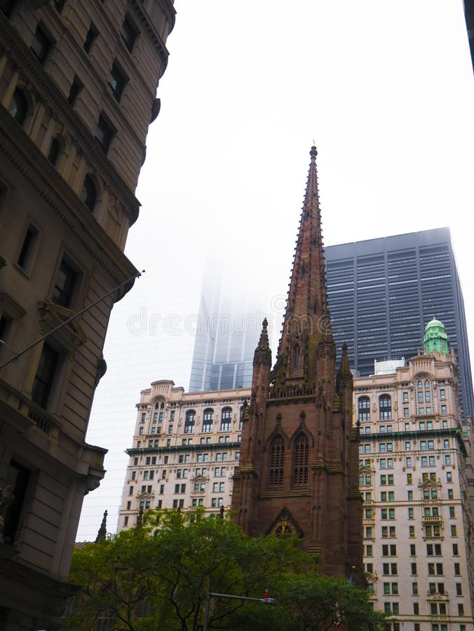 Καθεδρικός ναός του Αγίου Πατρικίου, Μανχάταν, Νέα Υόρκη, Ηνωμένες Πολιτείες της Αμερικής στοκ φωτογραφίες με δικαίωμα ελεύθερης χρήσης