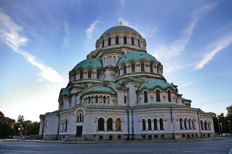 Καθεδρικός ναός του Αλεξάνδρου Nevski, Sofia στοκ φωτογραφία με δικαίωμα ελεύθερης χρήσης