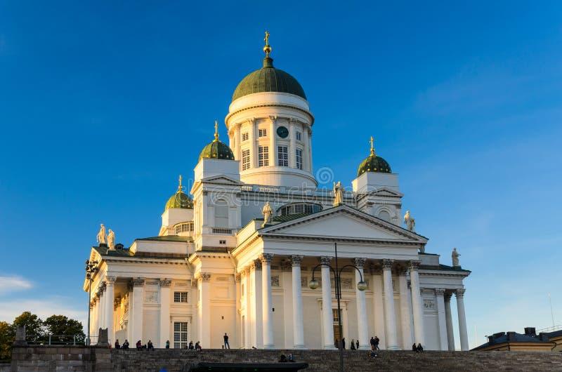 Καθεδρικός ναός του Ελσίνκι, Φινλανδία στοκ φωτογραφίες