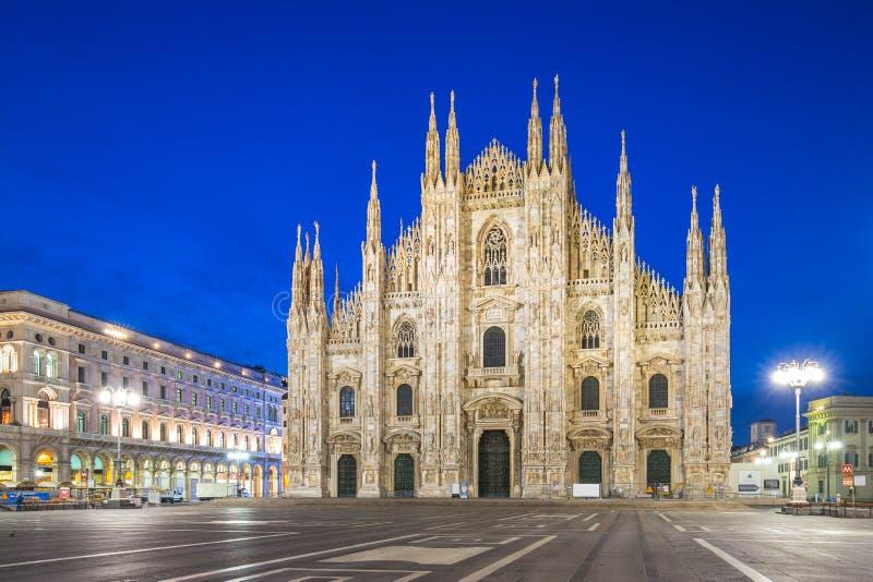 Καθεδρικός ναός του Μιλάνου ή Duomo του Μιλάνου στο Μιλάνο, Ιταλία στοκ εικόνα
