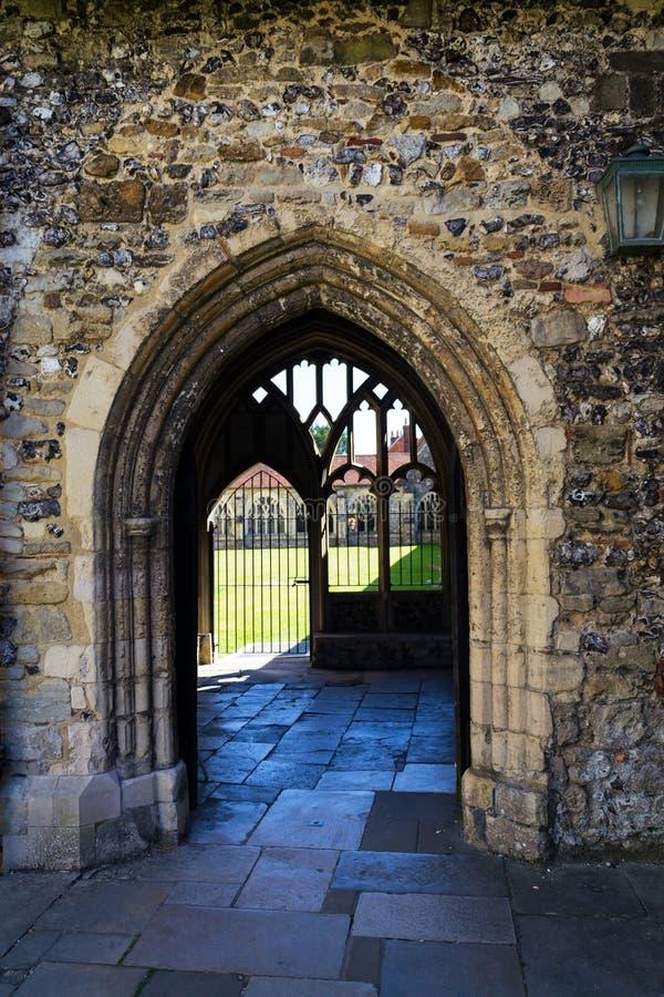 Καθεδρικός ναός του Τσίτσεστερ, ναός εκκλησία της ιερής τριάδας, Ηνωμένο Βασίλειο στοκ φωτογραφία με δικαίωμα ελεύθερης χρήσης