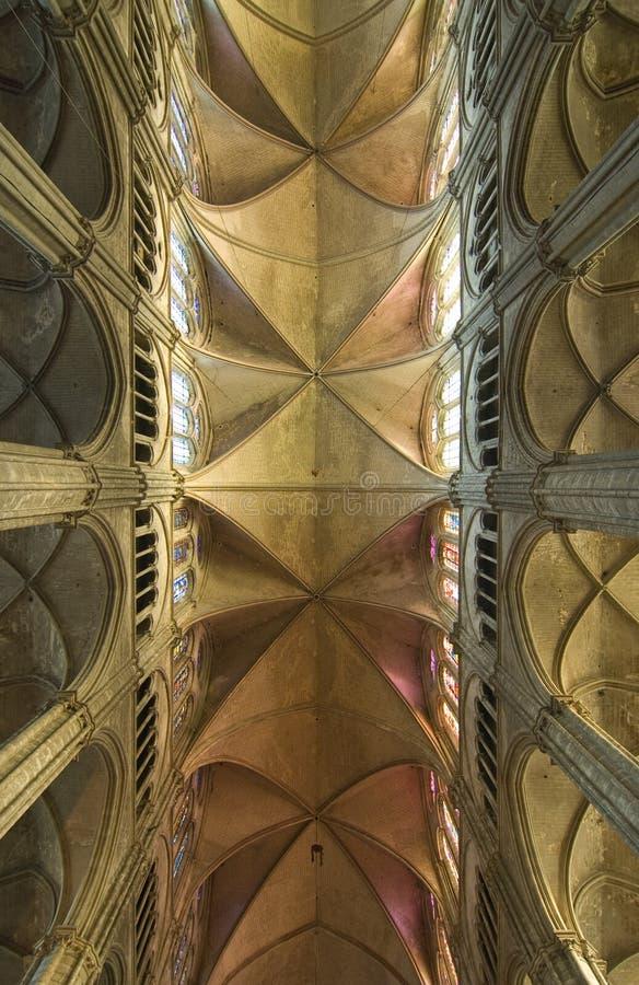 καθεδρικός ναός του Bourges αψ στοκ φωτογραφίες με δικαίωμα ελεύθερης χρήσης