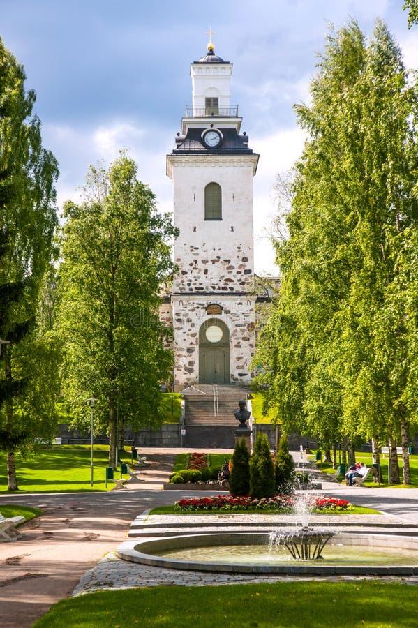 Καθεδρικός ναός του Kuopio, Kuopio, βόρειο Savonia, Φινλανδία στοκ φωτογραφίες
