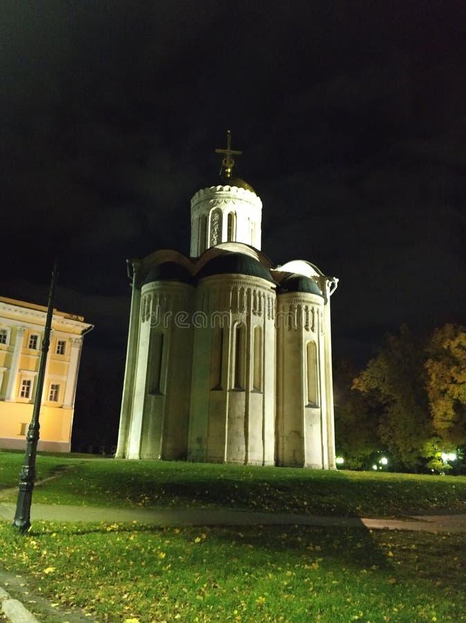 Καθεδρικός ναός του ST Demetrius το βράδυ στοκ φωτογραφίες με δικαίωμα ελεύθερης χρήσης