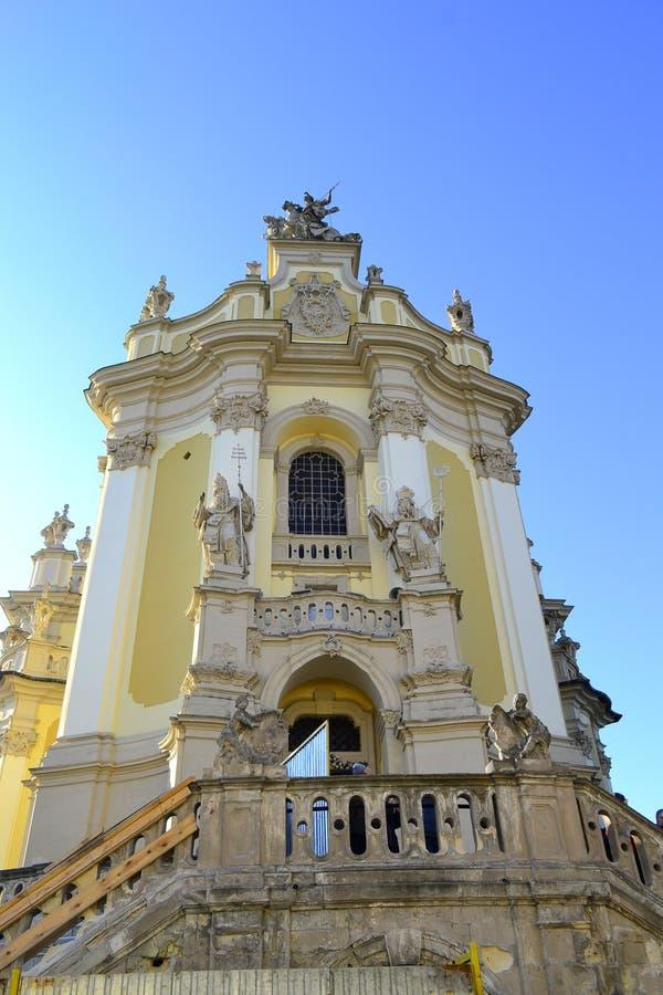 Καθεδρικός ναός του ST George ` s σε Lviv στοκ εικόνες με δικαίωμα ελεύθερης χρήσης