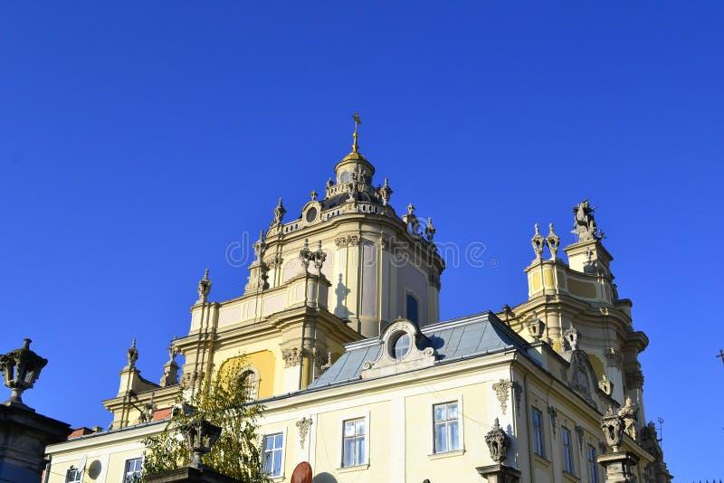 Καθεδρικός ναός του ST George ` s σε Lviv στοκ φωτογραφίες