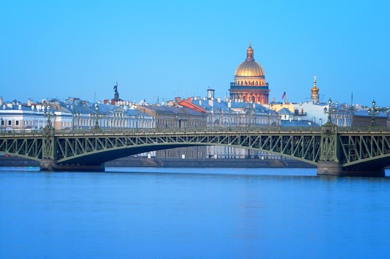 Καθεδρικός ναός του ST Isaac, Αγία Πετρούπολη, Ρωσία. στοκ εικόνα με δικαίωμα ελεύθερης χρήσης