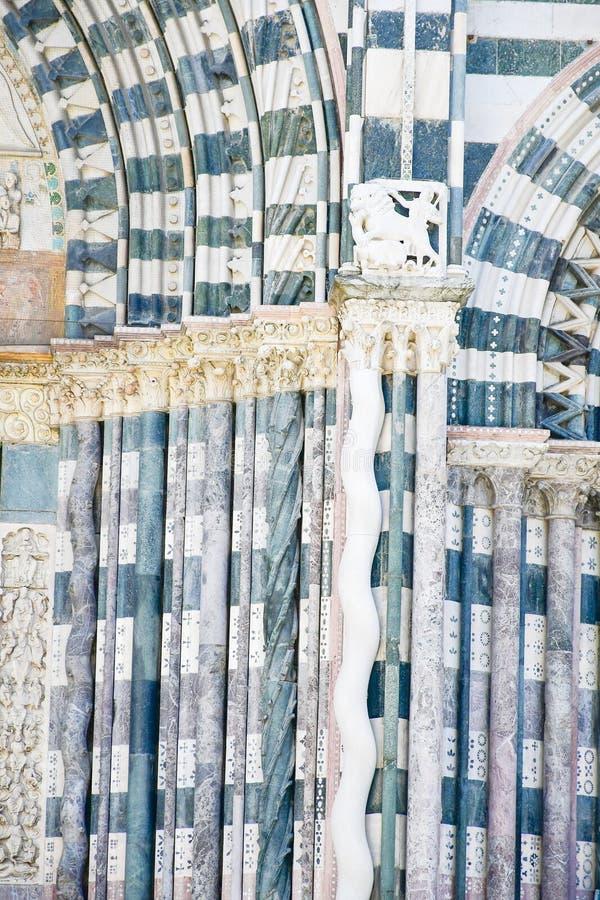 Καθεδρικός ναός του ST Lawrence στη Γένοβα, Ιταλία στοκ εικόνα