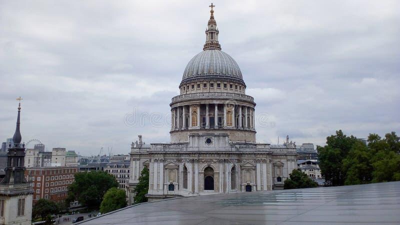 Καθεδρικός ναός του ST Paul στο Λονδίνο στοκ εικόνα