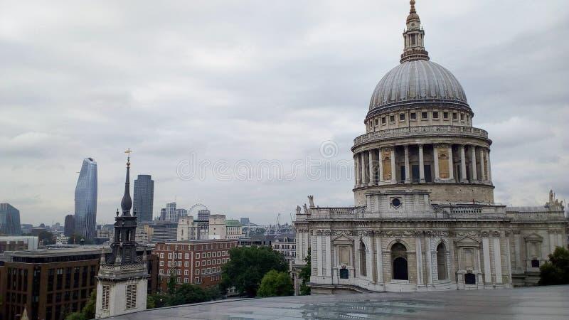 Καθεδρικός ναός του ST Paul στο Λονδίνο στοκ εικόνα με δικαίωμα ελεύθερης χρήσης