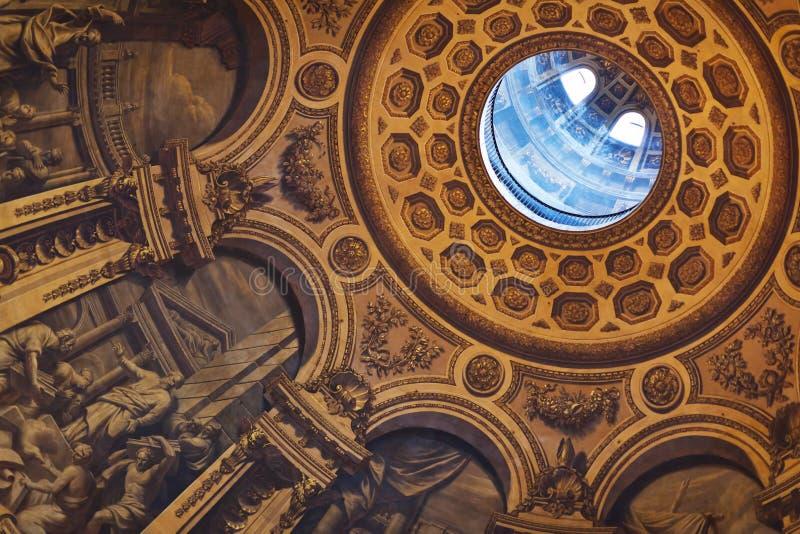 Καθεδρικός ναός του ST Pauls στοκ εικόνες με δικαίωμα ελεύθερης χρήσης
