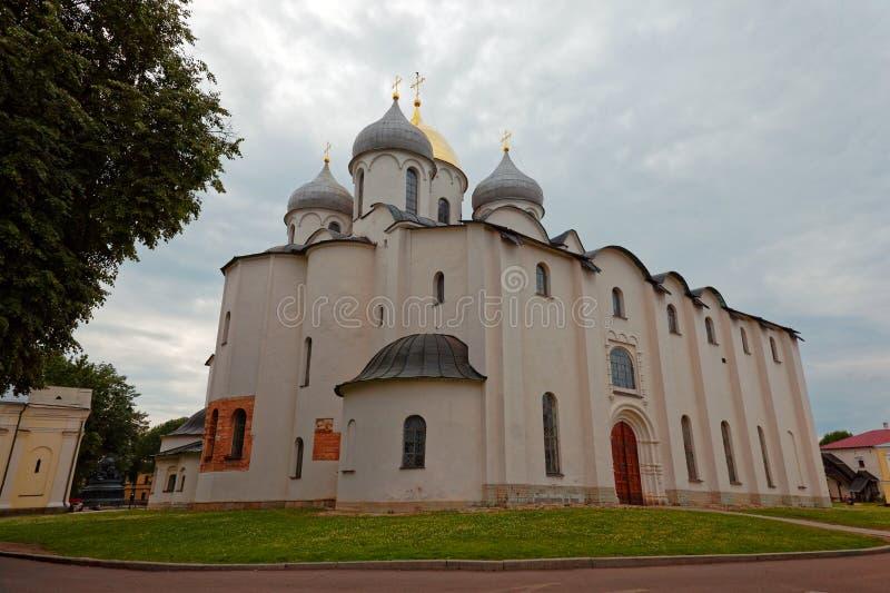 Καθεδρικός ναός του ST Sophia σε Veliky Novgorod, Ρωσία στοκ εικόνες