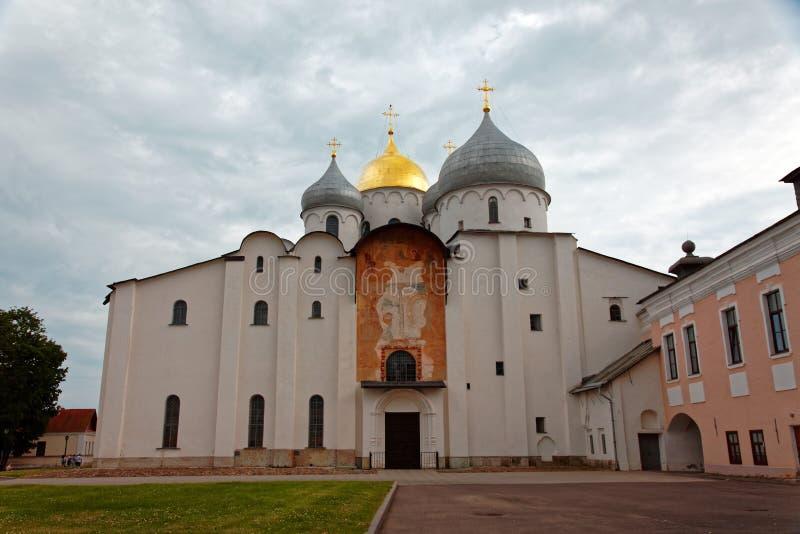 Καθεδρικός ναός του ST Sophia σε Veliky Novgorod, Ρωσία στοκ εικόνα με δικαίωμα ελεύθερης χρήσης