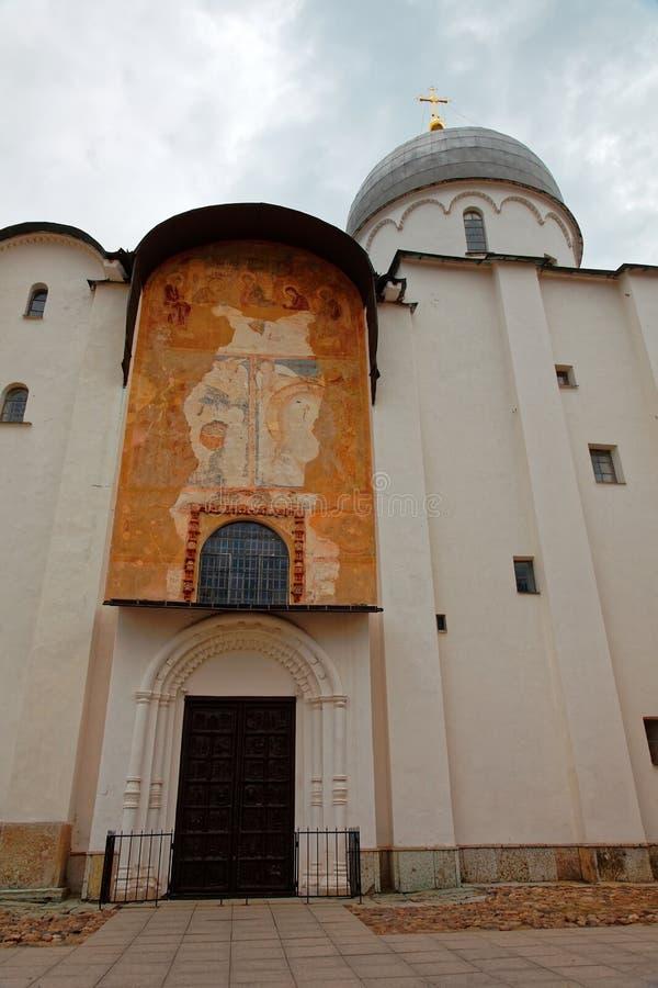 Καθεδρικός ναός του ST Sophia σε Veliky Novgorod, Ρωσία στοκ φωτογραφίες με δικαίωμα ελεύθερης χρήσης