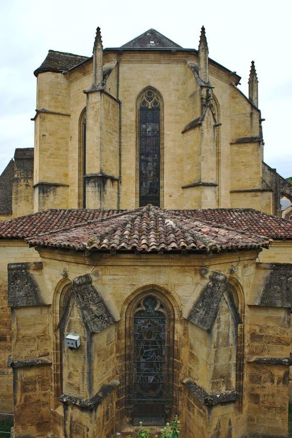 Καθεδρικός ναός των ιερών sacerdos, sarlat caneda Λα στοκ φωτογραφία με δικαίωμα ελεύθερης χρήσης