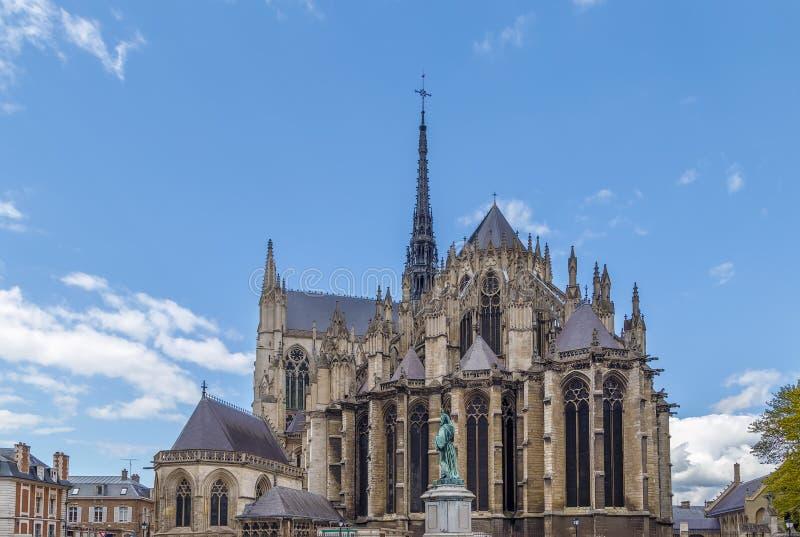 Καθεδρικός ναός Amiens, Γαλλία στοκ εικόνες