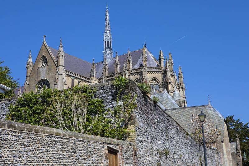 Καθεδρικός ναός Arundel στο Σάσσεξ στοκ εικόνα με δικαίωμα ελεύθερης χρήσης