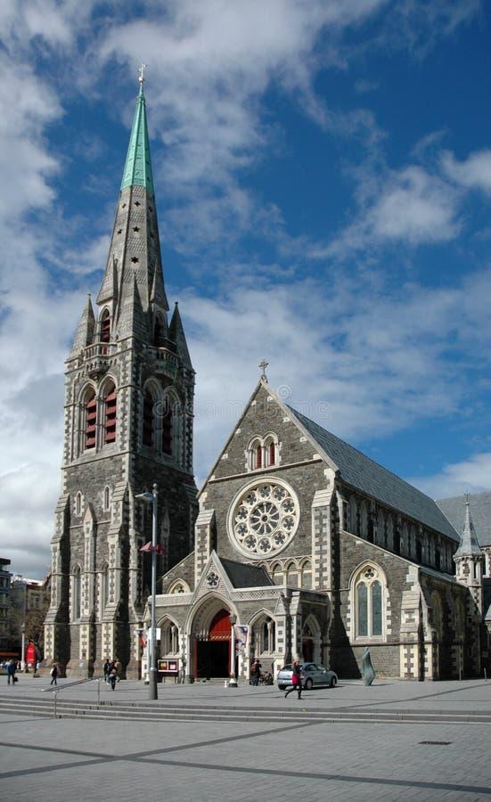 καθεδρικός ναός christchurch στοκ εικόνες