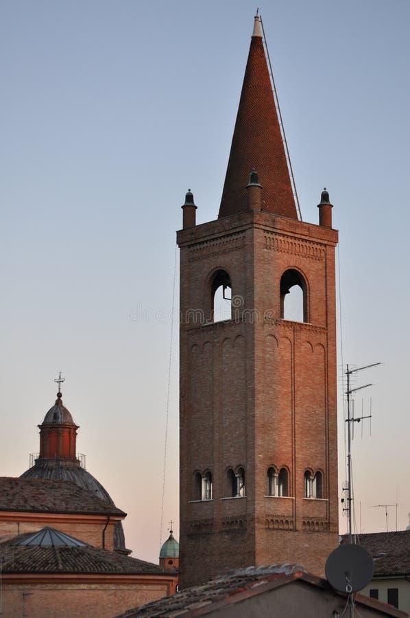 Καθεδρικός ναός Croce Santa (ιερός σταυρός) στο Forlì στοκ φωτογραφία με δικαίωμα ελεύθερης χρήσης