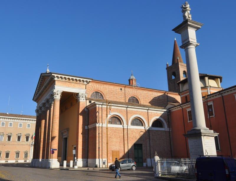 Καθεδρικός ναός Croce Santa (ιερός σταυρός) στο Forlì στοκ εικόνες με δικαίωμα ελεύθερης χρήσης