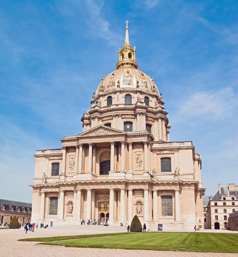 καθεδρικός ναός invalids Παρίσι στοκ εικόνα