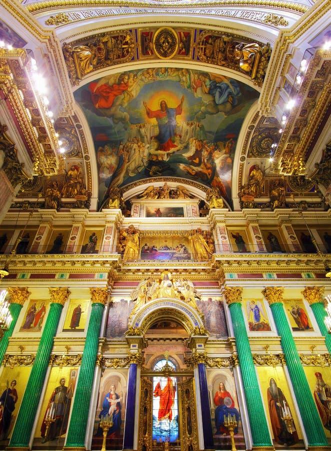 καθεδρικός ναός Isaac Πετρούπολη s Άγιος ST στοκ φωτογραφία με δικαίωμα ελεύθερης χρήσης