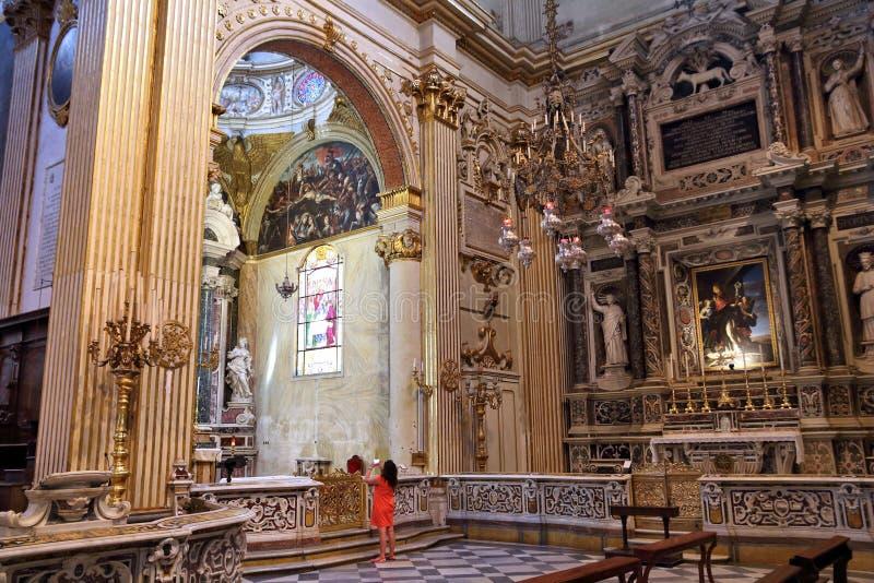 Καθεδρικός ναός Lecce, Ιταλία στοκ φωτογραφία