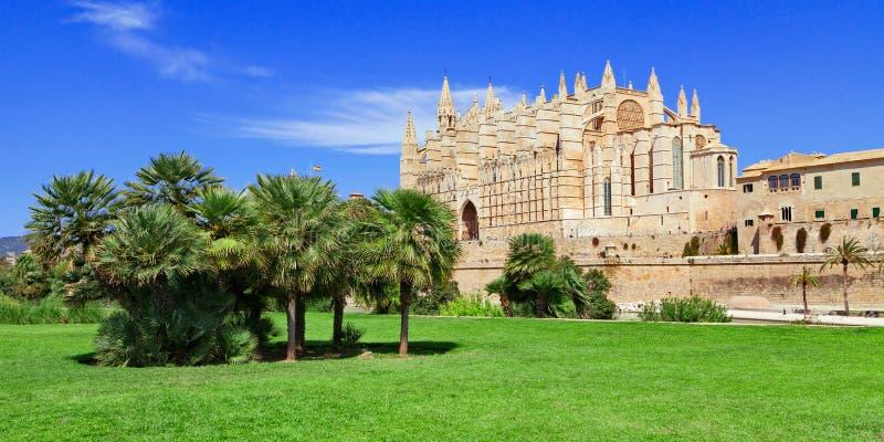 Καθεδρικός ναός Majorca Μαγιόρκα Ισπανία Palma στοκ φωτογραφία