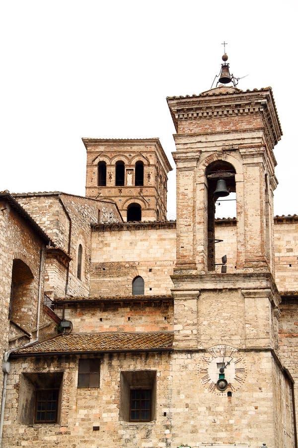 Καθεδρικός ναός Narni (Ουμβρία, Ιταλία) στοκ εικόνες