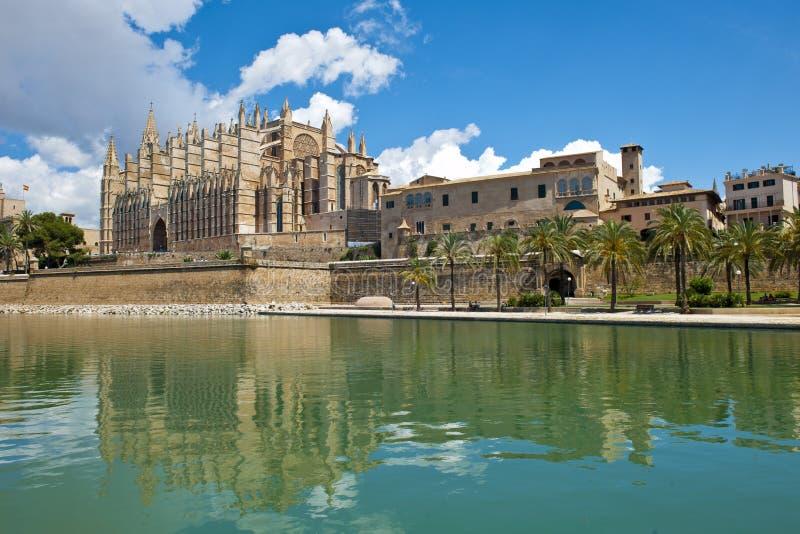 Καθεδρικός ναός Palma de Μαγιόρκα στοκ εικόνες